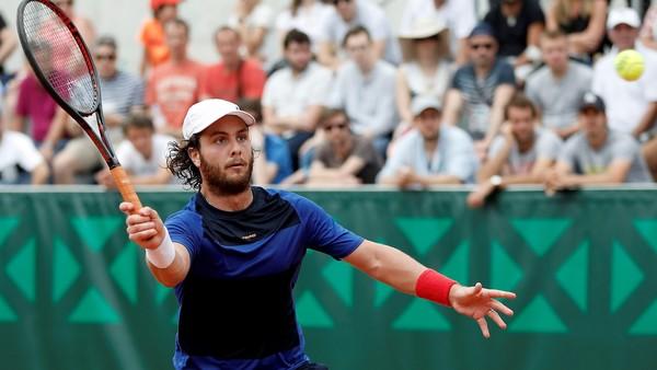 Marco Trungelliti logró su primer triunfo tras denunciar a la mafia y avanzó a la segunda ronda en San Pablo