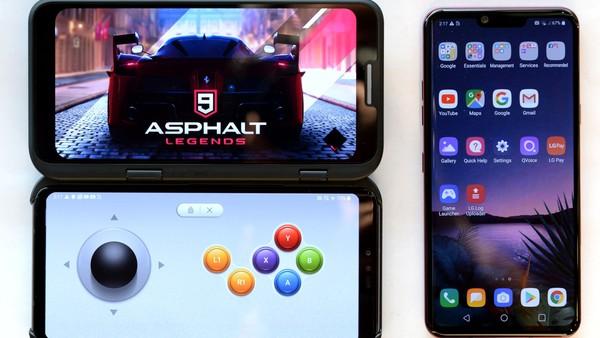 La respuesta de LG a las pantallas plegables: un celular con pantalla doble