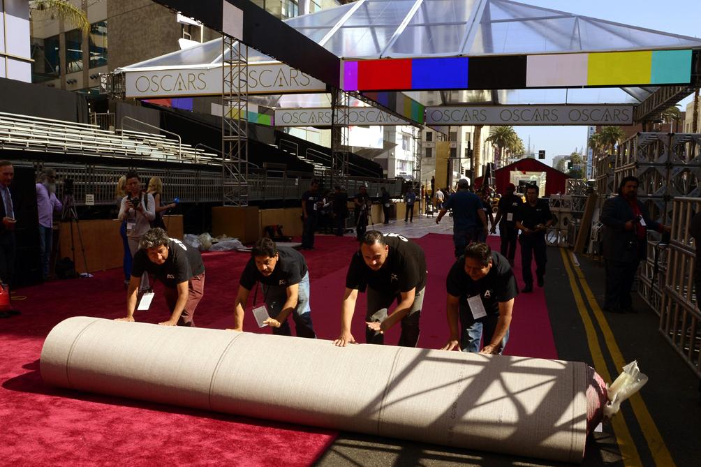 Llegaron las celebridades a la alfombra roja