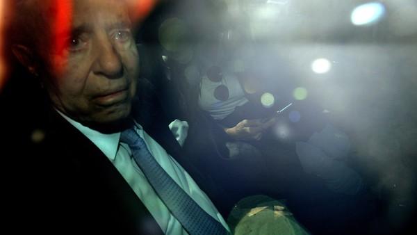 AMIA II: Menem y Anzorreguy prefirieron el silencio en la última audiencia