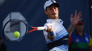 """El """"Peque"""" Schwarztman se hizo enorme y le ganó al sexto del ránking en octavos del US Open"""