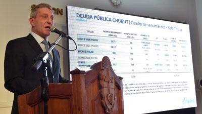 Sin anunciar medidas, Arcioni volvió a culpar a Nación por la crisis en Chubut