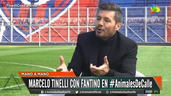 """Marcelo Tinelli: """"Cada toque político en el país es un escándalo económico"""""""