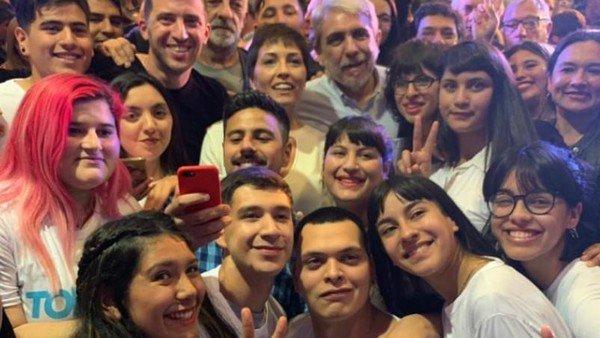Aníbal Fernández volvió a Quilmes: respaldó a la candidata de La Cámpora