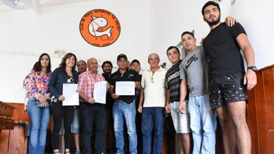 """El Municipio acompañará al Club de Pesca """"El Golfo"""""""