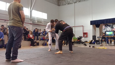 Sábado a puro Jiu Jitsu en el Municipal Nº1