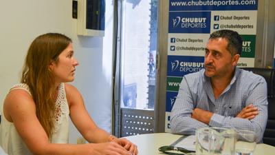 Julia Gomes Fantasia visitó Chubut Deportes