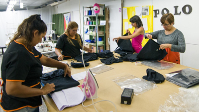 El Polo Textil de Trelew cumplió cuatro meses de funcionamiento