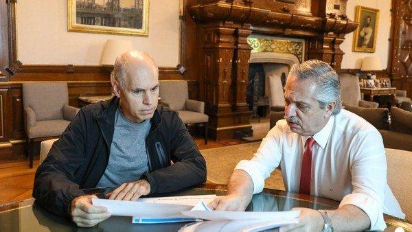 Alberto Fernández vs. Horacio Rodríguez Larreta: una encuesta midió el duelo del momento, provincia por provincia