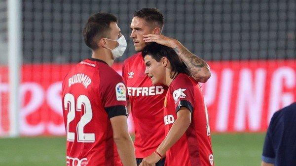 Luka Romero y la incontenible emoción luego del golazo que fue su primer grito profesional