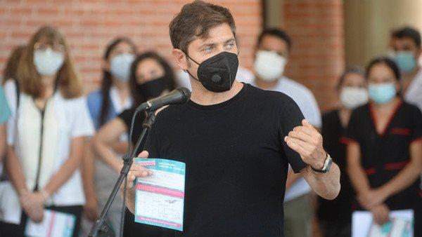 """Axel Kicillof, sobre el debate por la suspensión de las PASO: """"No es un tema prioritario para mí"""""""