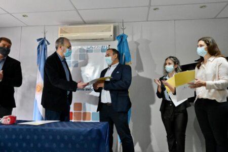 salud:-puratich-puso-en-funciones-a-los-nuevos-directores-de-los-hospitales-de-trelew-y-rawson