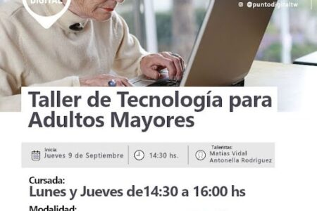 trelew:-inscripciones-abiertas-para-un-taller-de-tecnologia-orientado-a-adultos-mayores